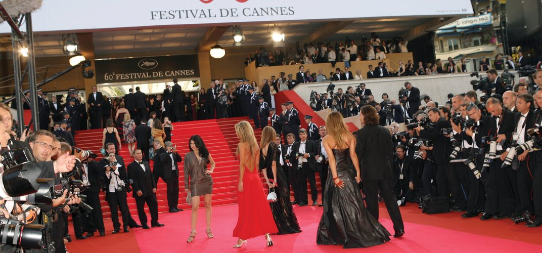 Only stars and top industry professionals have access to the Red Carpet