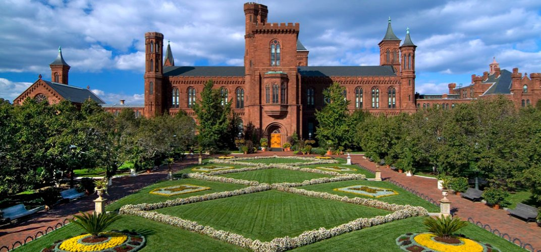 """The Smithsonian Institution Building, affectionately known as """"the Castle"""""""