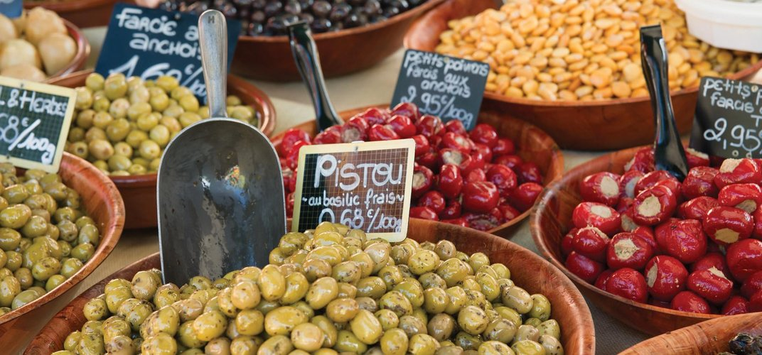 Traditional condiments in Provence