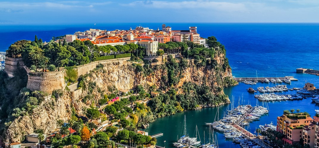 The Rock of Monte Carlo with the Prince's Palace
