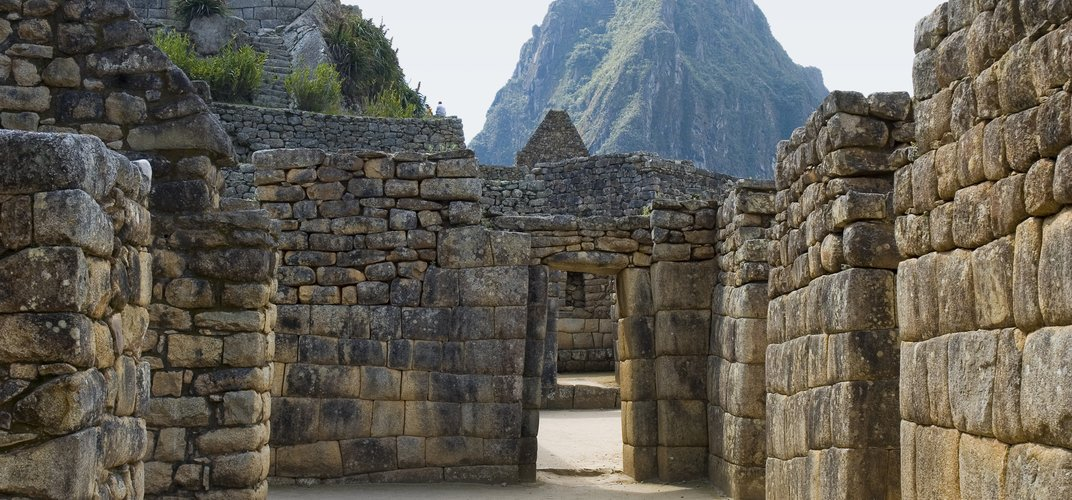 Exploring the renowned stone work of Machu Picchu