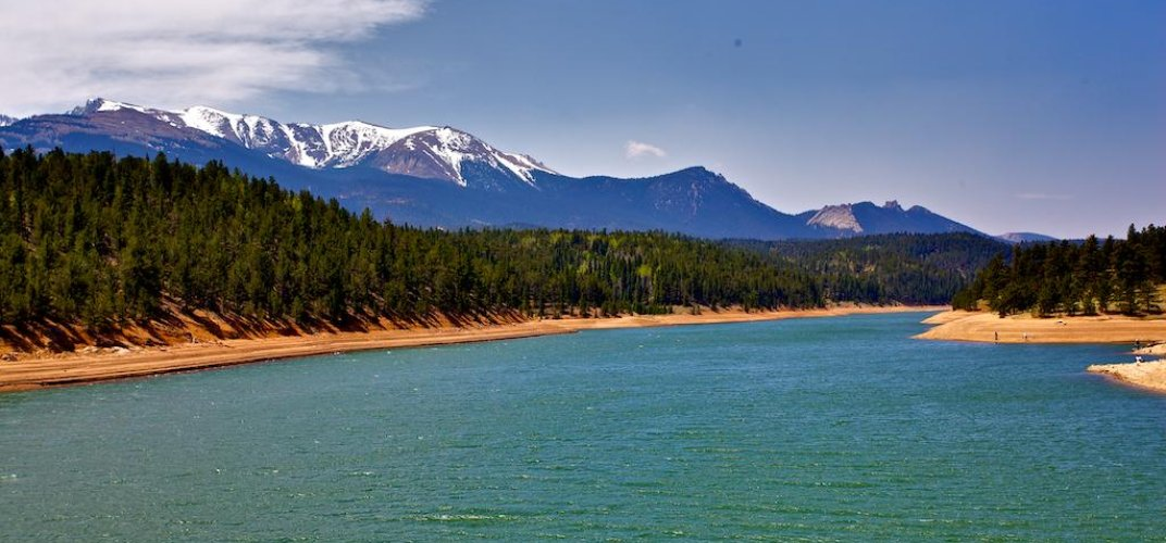 A view of Pikes Peak. Credit: Kimo Williams