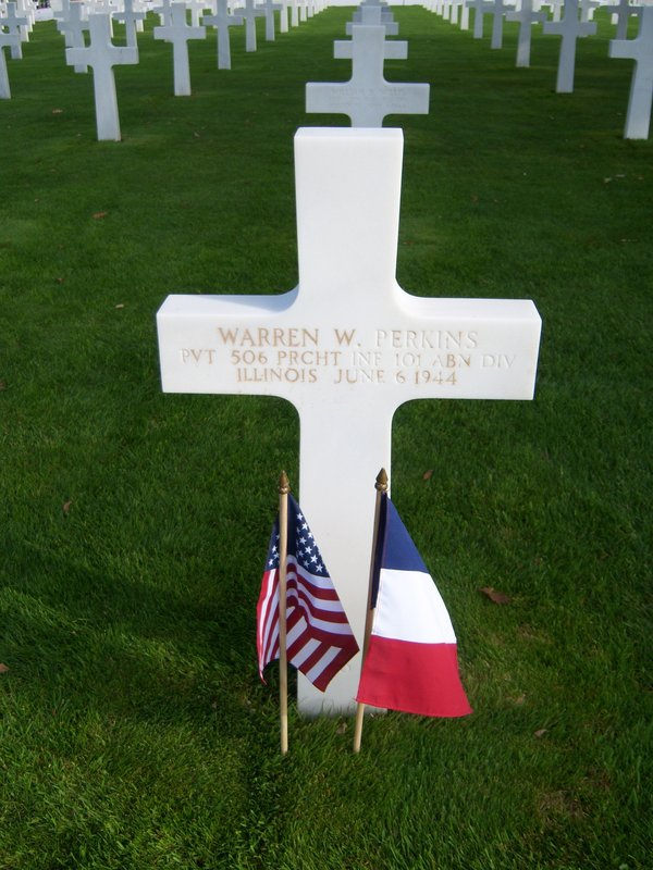 US Cemetery in Normandy (Stéphanie Jeanjean)