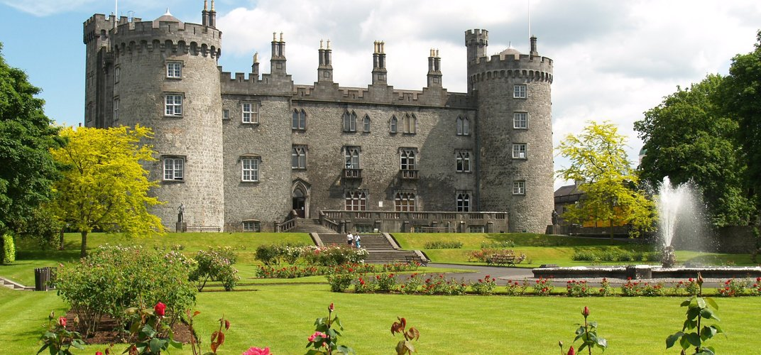 The 12th-century Kilkenny Castle
