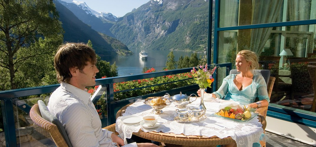 View from the Union Hotel, Geiranger. Credit: Terje Rakke Nordic Life / Visit Norway