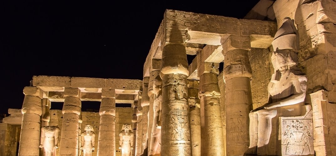 Evening at the Temple of Luxor