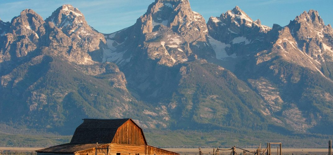 Iconic view of the Grand Tetons. Credit: Ben Hallissy