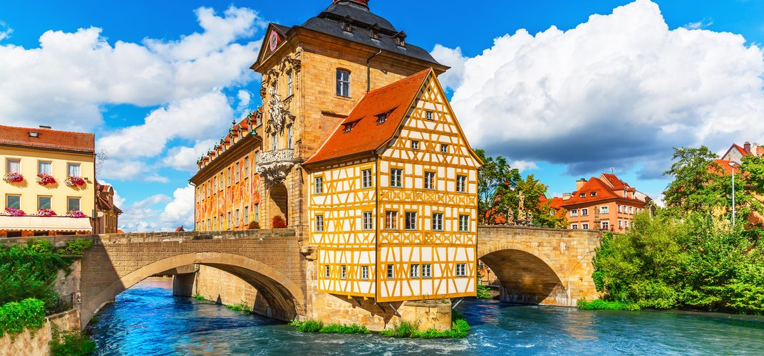 The picturesque town of Bamberg