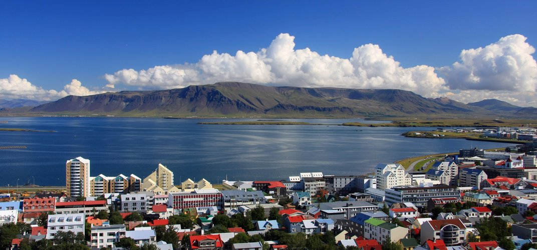 The colorful capital of Reykjavik