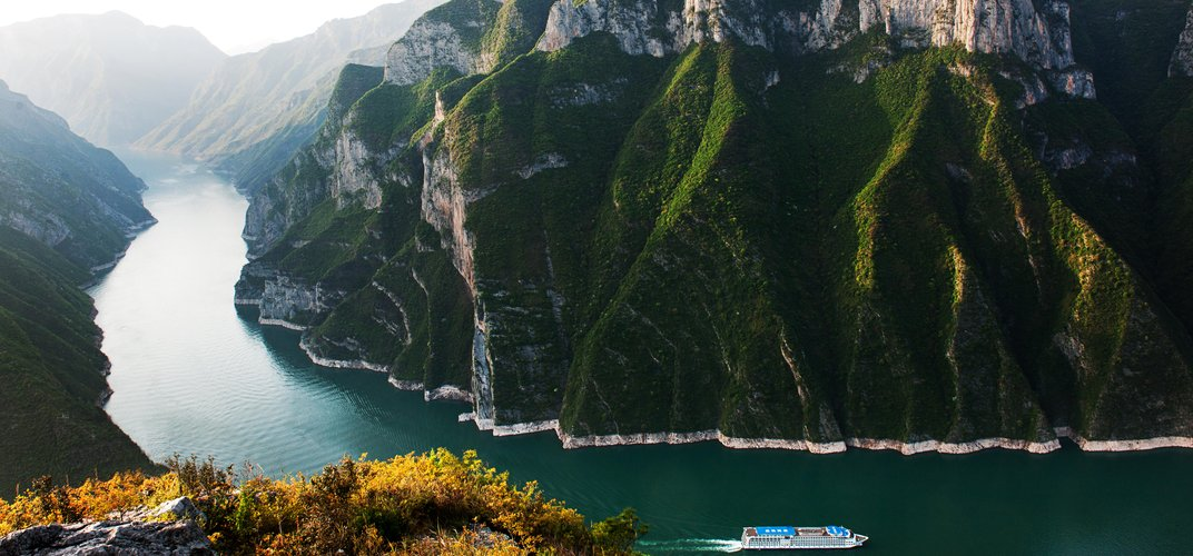 The breathtaking gorges of the Yangtze River