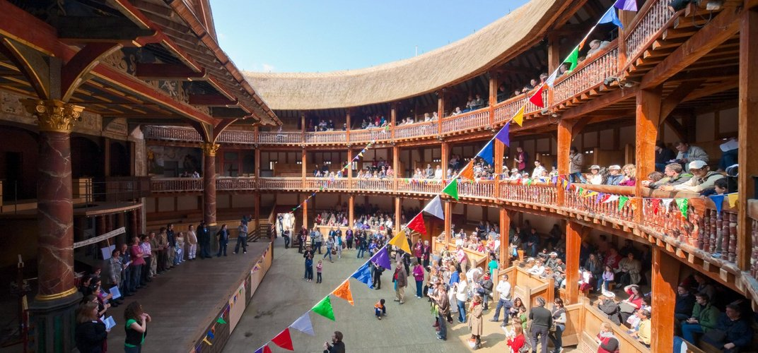 Shakespeare's Globe Theatre, London. Credit: London On View