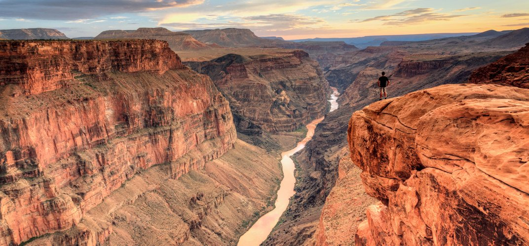 The breathtaking view of the Grand Canyon from Toroweap Overlook.  Credit: Jon Arnold / DanitaDelimont.com