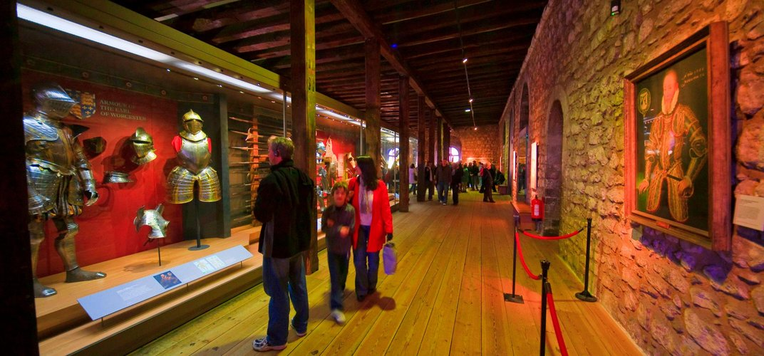 Exhibit on view in London's Tower of London. Credit: London On View