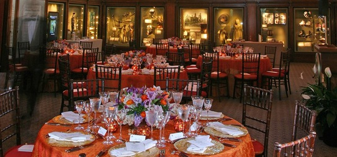 Gala dinner event at the Smithsonian Castle
