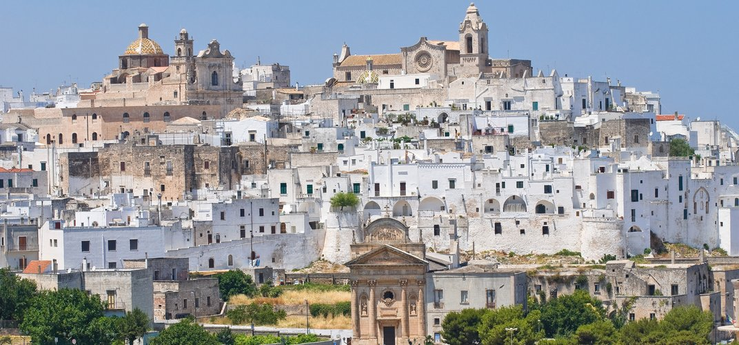 "The ""White Town"" of Ostuni"