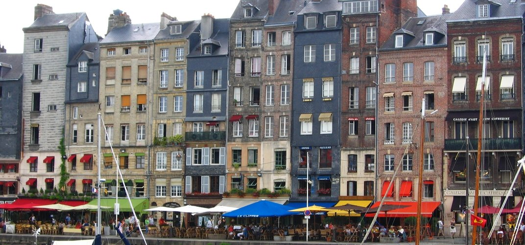 The charming port of Honfleur