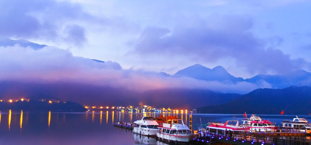 Serene Sun Moon Lake in Taiwan Credit: Taiwan Tourism Board