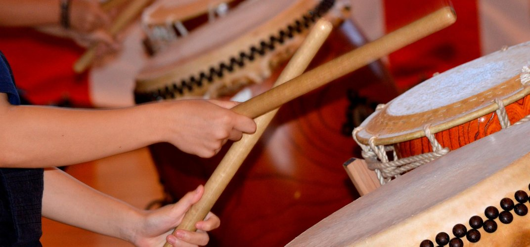 Japanese tradition of Taiko drumming