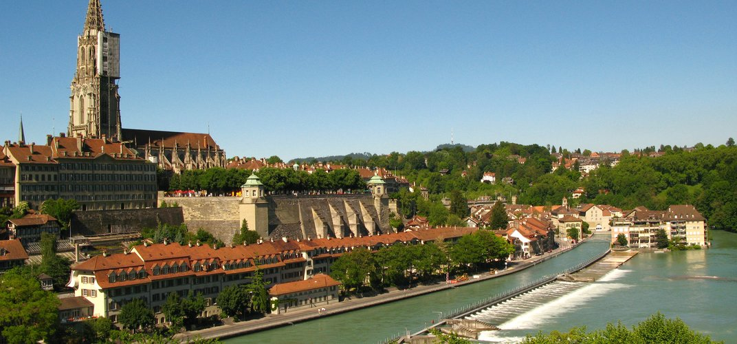 A view of historic Bern, Switzerland