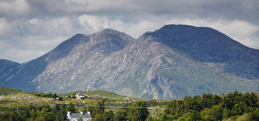 The Connemara landscape. Credit: Ireland Tourism