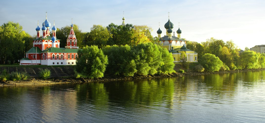 The Golden Ring village of Uglich