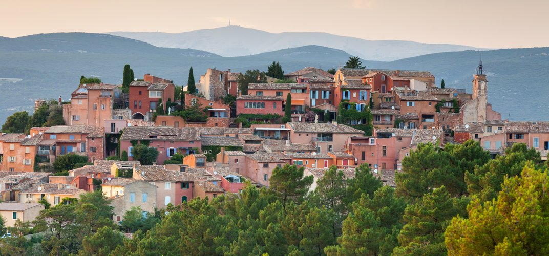 The quintessential Provencal village of Roussillon