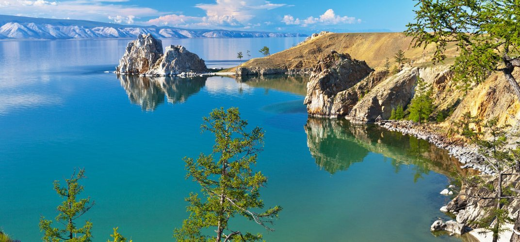 Russia's Lake Baikal, the world's oldest and deepest lake