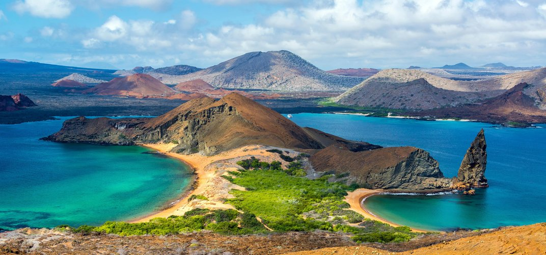 View of Bartolome Island
