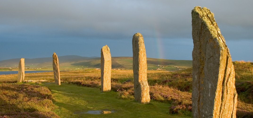 The Ring of Brodgar, Orkney Islands