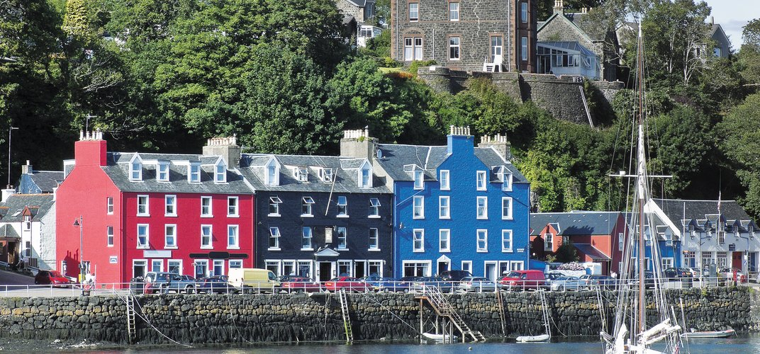 The village of Tobermory, Isle of Mull