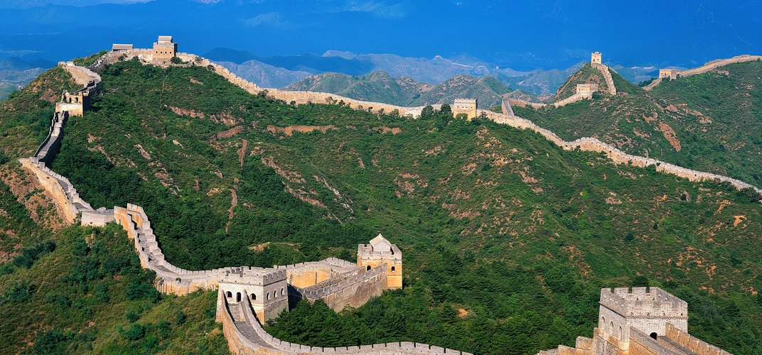 The legendary Great Wall of China