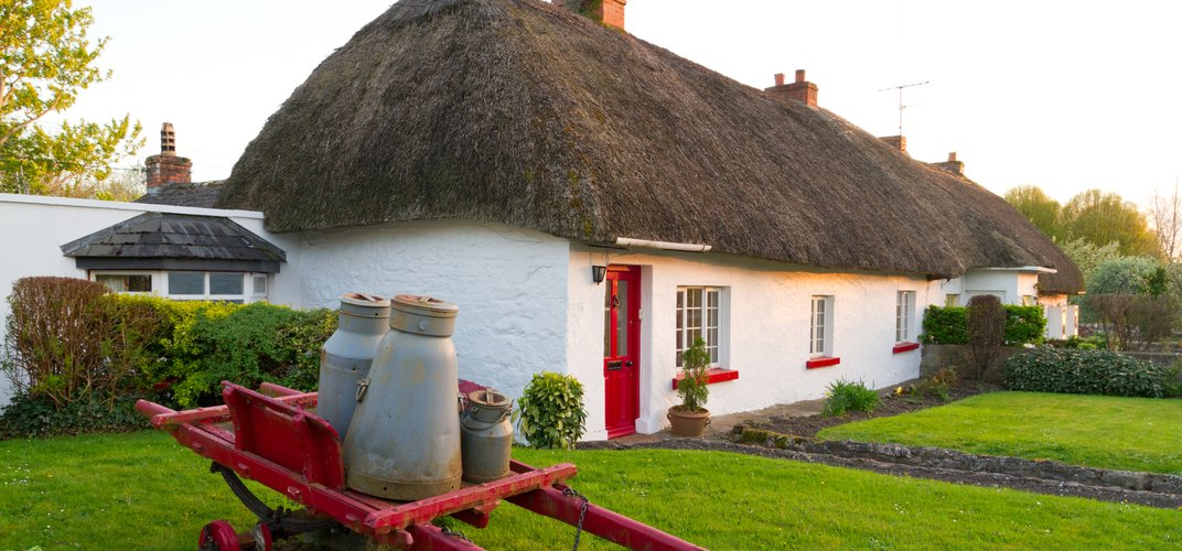 Typical cottage in lovely Adare