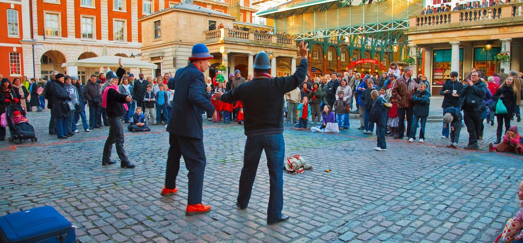 Lively Covent Garden. Credit: PawelLibera / London and Partners
