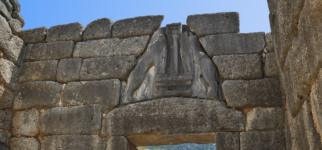 The Lion's Gate at Mycenae