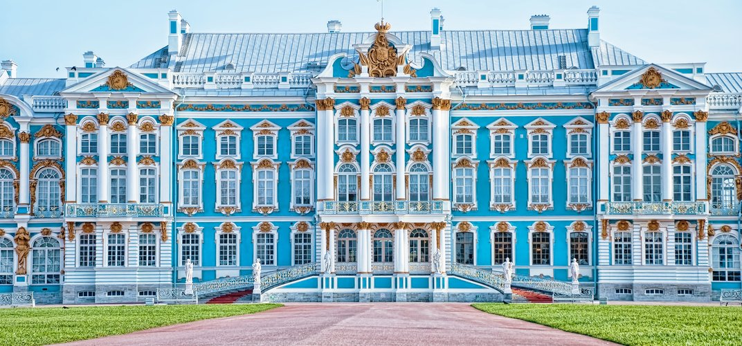 St. Catherine's Palace in Pushkin