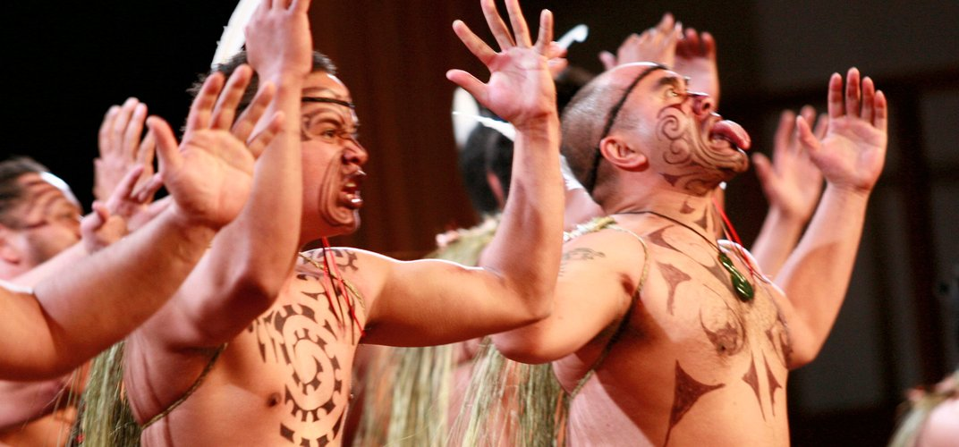 Maori Haka performance. Credit: James Heremaia/Tourism New Zealand