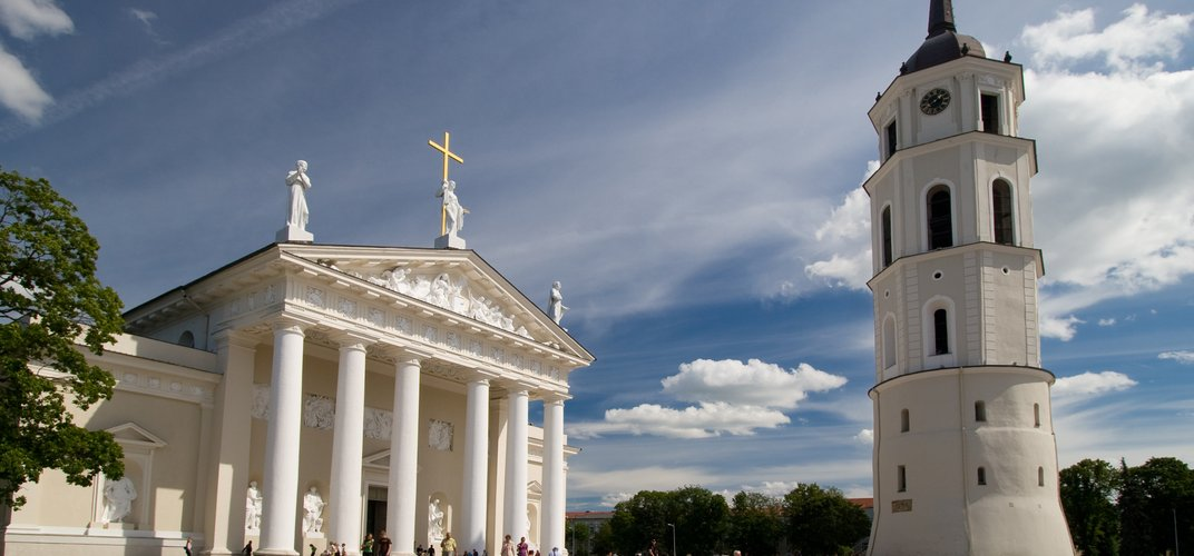 Cathedral Square, Vilnius, Lithuania