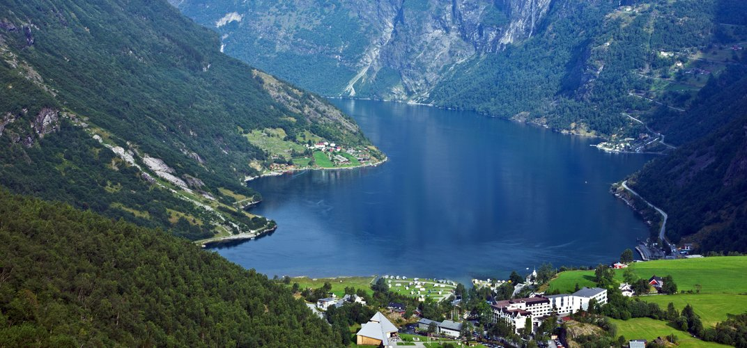 Norway's dramatic Geirangerfjord, a World Heritage site