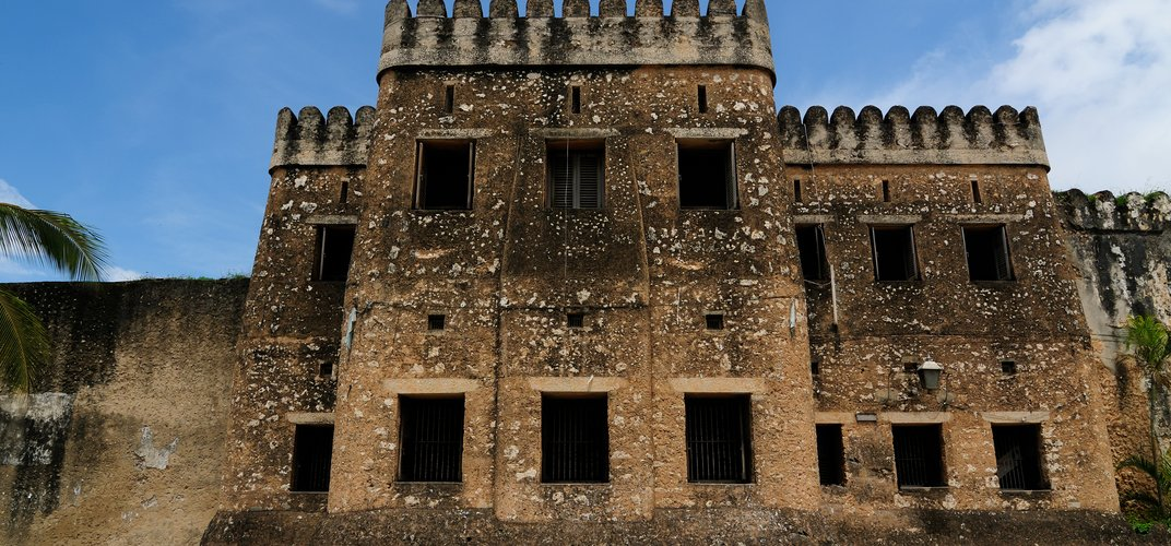 The historic fort in Zanzibar's Stone Town