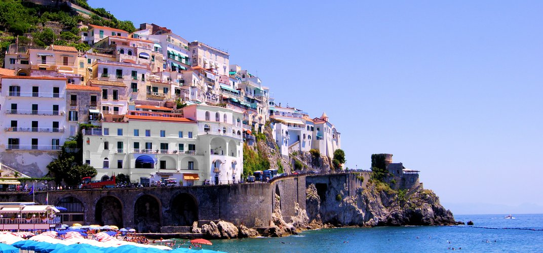 Town situated along Italy's renowned Amalfi Coast